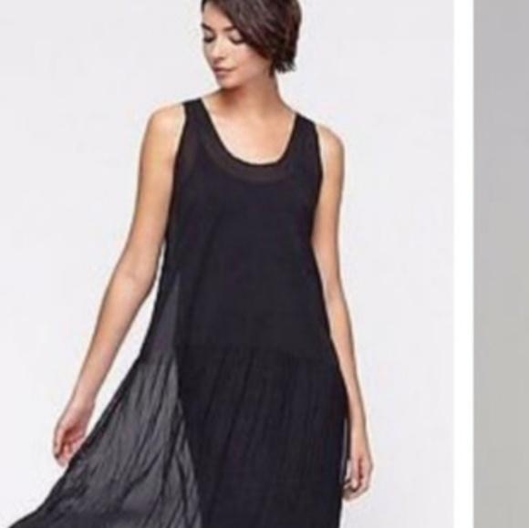 Eileen Fisher Dresses & Skirts - Eileen fisher chiffon panel dress